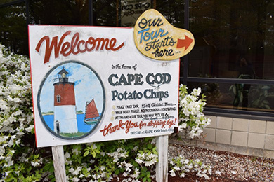 Cape Cod Potato Chip Factory Tour